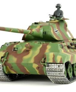 ferngesteuerter panzer heng long koenigstiger porscheturm metallkette 1