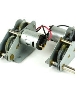 metallgetriebe alu zink henglong medium low position 58mm 1