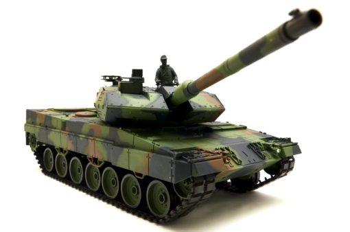 rc deutscher panzer 1 16 tank german leopard 2a6 rauch 2 4ghz 1 2 1