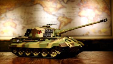 rc ferngesteuerter panzer koenigstiger henschelturm hl 1