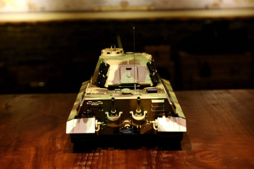 rc ferngesteuerter panzer koenigstiger henschelturm hl 2