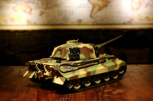 rc ferngesteuerter panzer koenigstiger henschelturm hl 4