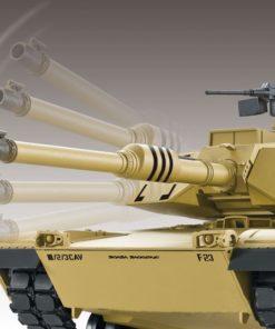 rc panzer heng long m1 a2 abrams rauch 24ghz 2