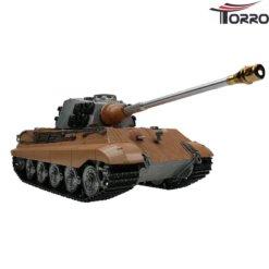 rc panzer shop 1 16 koenigstiger metall profi edition unlackiert 1