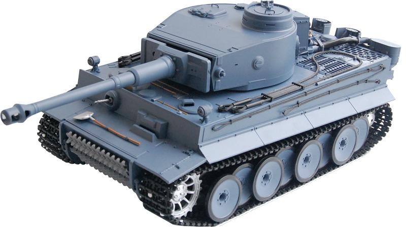 rc panzer rc panzer german tiger i heng long 1 16 grau rauch sound 2 4ghz rc panzer depot. Black Bedroom Furniture Sets. Home Design Ideas