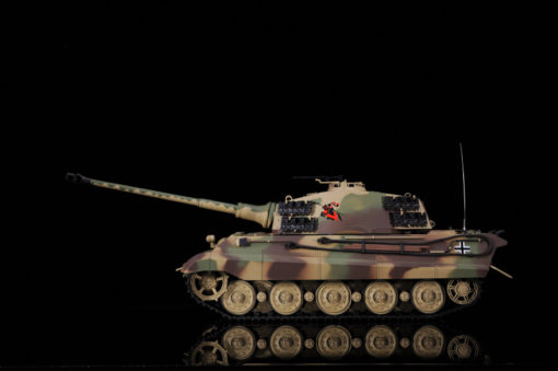 rc ferngesteuerter panzer koenigstiger henschelturm hl 7