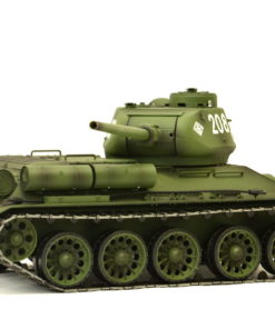rc panzer heng long russich t34 85 metall rauch 24ghz 12 1