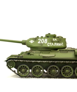 rc panzer heng long russich t34 85 metall rauch 24ghz 3 1