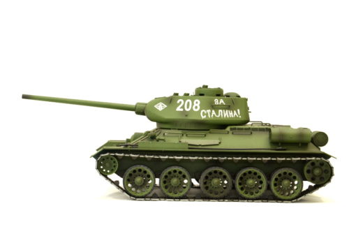 rc panzer heng long russich t34 85 metall rauch 24ghz 3 1