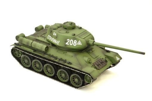 rc panzer heng long russich t34 85 metall rauch 24ghz 6