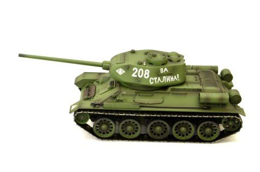 rc panzer heng long russich t34 85 metall rauch 24ghz 8