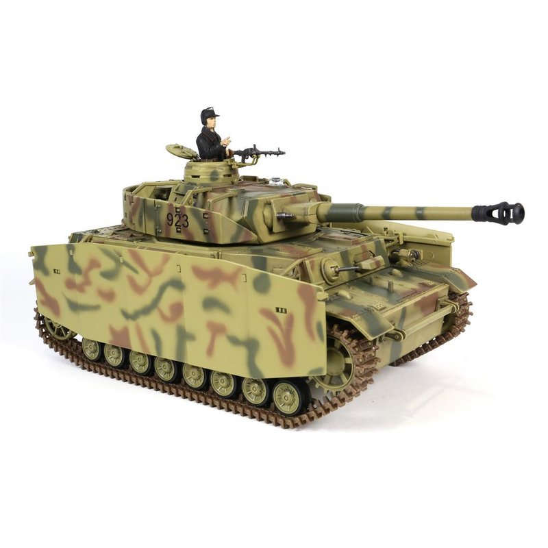 rc panzer panzer iv ausf h mit ir schussfunktion rc. Black Bedroom Furniture Sets. Home Design Ideas