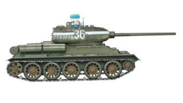 rc panzer russischer t34 85 metall ir rc panzer depot 1