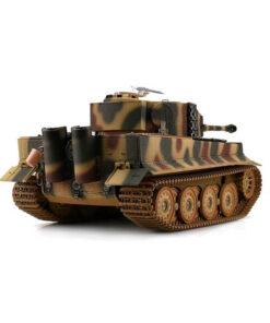Tiger I Späte Ausführung mit IR-Schussfunktion, Metallketten, -Getriebe und -Unterwanne