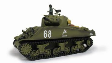 rc panzer m4a3 105 howitzer 1