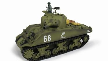 rc panzer m4a3 105 howitzer 9