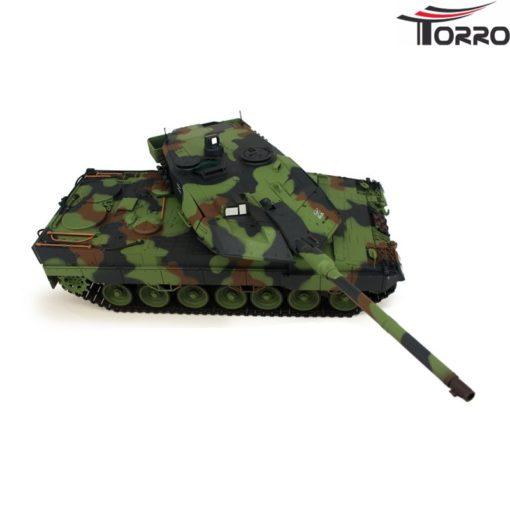 rc panzer shop 1 16 leopard 2a6 metallgetriebe torro 10