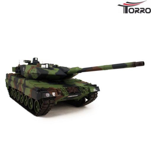 rc panzer shop 1 16 leopard 2a6 metallgetriebe torro 4
