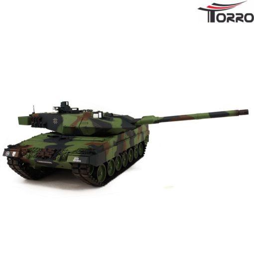 rc panzer shop 1 16 leopard 2a6 metallgetriebe torro 5
