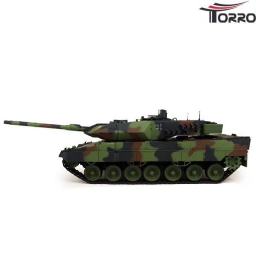 rc panzer shop 1 16 leopard 2a6 metallgetriebe torro 6