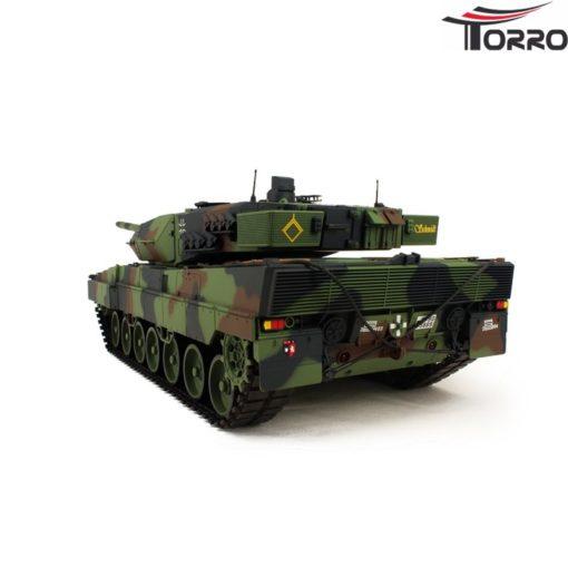 rc panzer shop 1 16 leopard 2a6 metallgetriebe torro 7