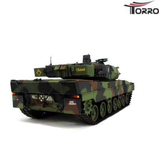 rc panzer shop 1 16 leopard 2a6 metallgetriebe torro 8
