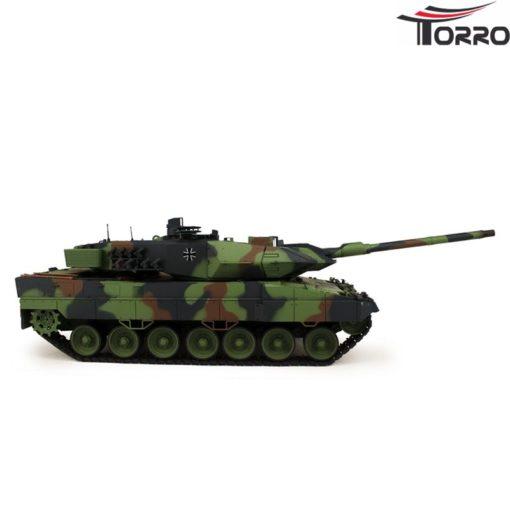 rc panzer shop 1 16 leopard 2a6 metallgetriebe torro 9