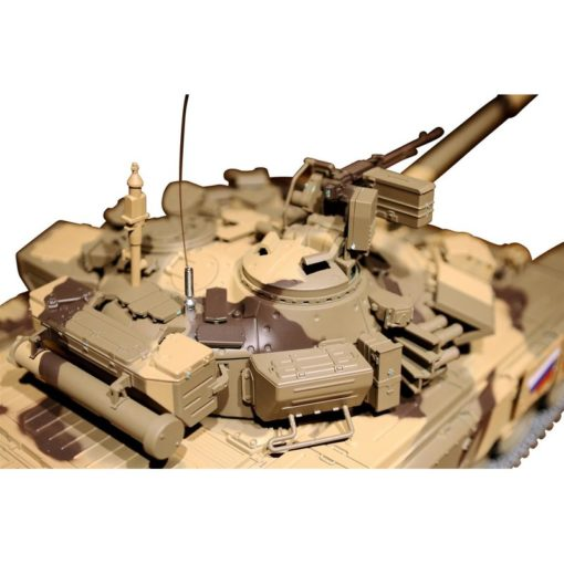 rc panzer t90 metallgetriebe metallketten metallraeder 6