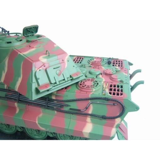 rc panzer torro henglong koenigstiger mit porsche turm bb 5