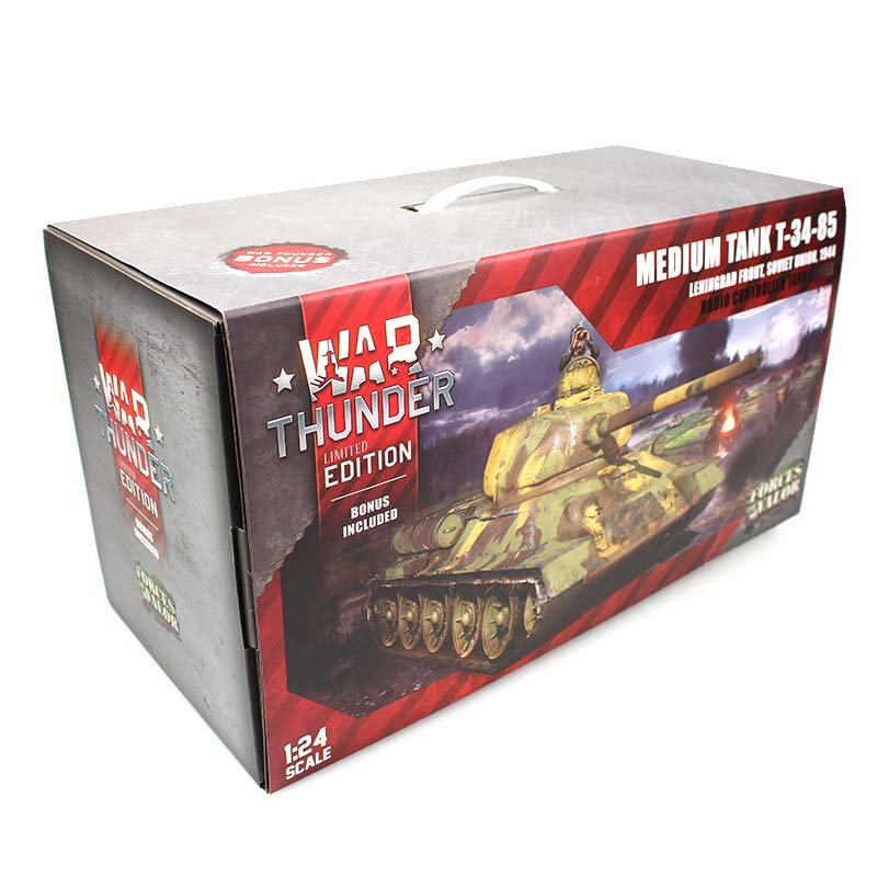 war thunder 1 24 forces of valor t34 85 rc panzer 3