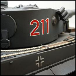 Tiger 1 frühe Ausführung in Grau VS Tank Pro 3