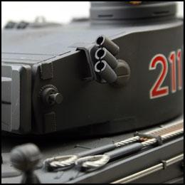 Tiger 1 frühe Ausführung in Grau VS Tank Pro 4