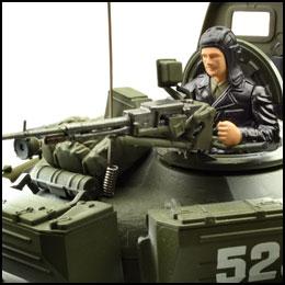 rc panzer vstank pro T72M1 wintertarn ir schussfunktion 2