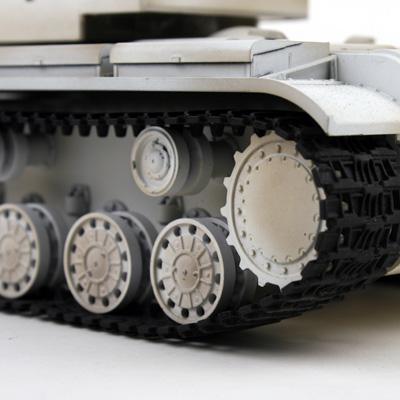 rc panzer vstank pro kv2 wintertarn ir schussfunktion 10