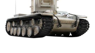 rc panzer vstank pro kv2 wintertarn ir schussfunktion 2
