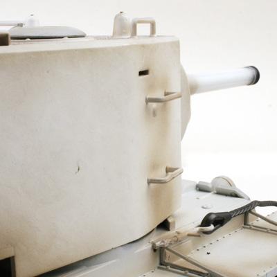 rc panzer vstank pro kv2 wintertarn ir schussfunktion 5