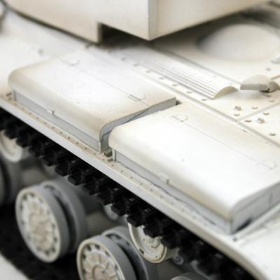 rc panzer vstank pro kv2 wintertarn ir schussfunktion 9