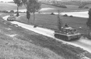Tiger 1 Panzer in Nordfrankreich