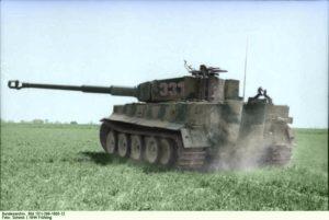Tiger 1 Panzer Nordfrankreich