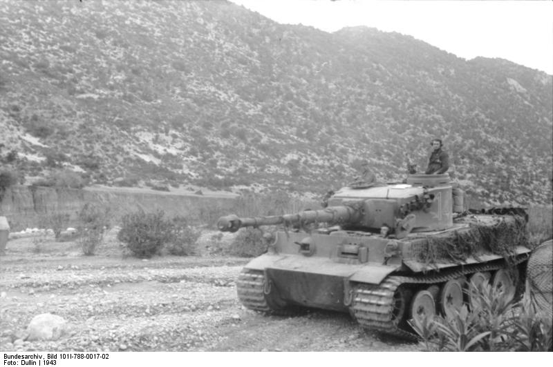 Bundesarchiv Bild 101I 788 0017 02 Tunesien Panzer VI Tiger I
