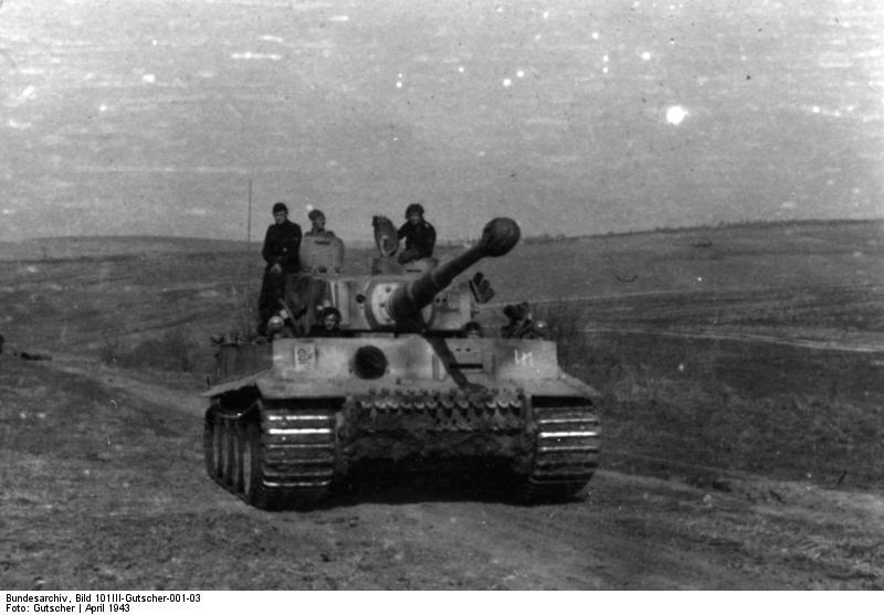 Bundesarchiv Bild 101III Gutscher 001 03 Russland SS Division  Das Reich  Tiger Panzer