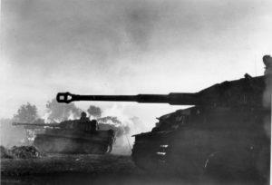 Tiger Panzer an der russischen Front