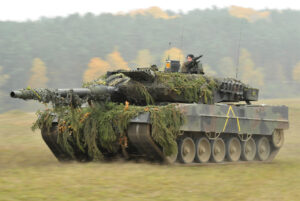 German Army Leopard 2A6 tank in Oct. 2012 1