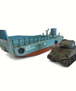 rc panzer landungsboot normandie lcm 3  sherman m4a3 1