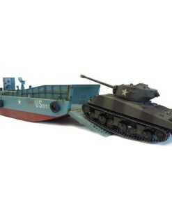 rc panzer landungsboot normandie lcm 3  sherman m4a3 2