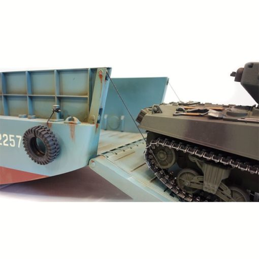 rc panzer landungsboot normandie lcm 3  sherman m4a3 3