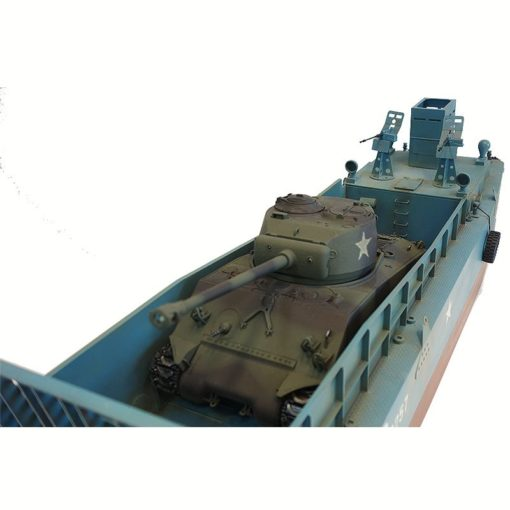 rc panzer landungsboot normandie lcm 3  sherman m4a3 4