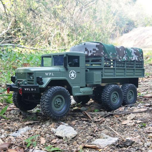 henglong militaer fahrzeug b16 gruen 8
