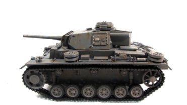 RC Panzer Amewi Metall Tiger 1 wüstentarn 002 2