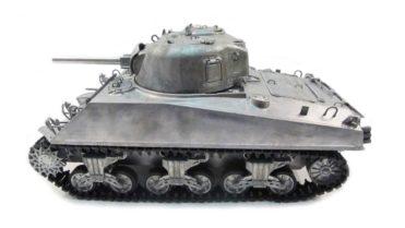 RC Panzer Amewi Metall Tiger 1 wüstentarn 002 5